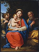 Francesco Albani - Holy Family with Angels - 1983.250 - Museum of Fine Arts.jpg
