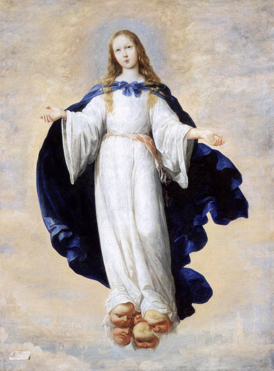 Francisco de Zurbarán - The Immaculate Conception - WGA26071