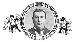 Frank Dumont - Dumont, from The Witmark amateur minstrel guide and burnt cork encyclopedia (1899)