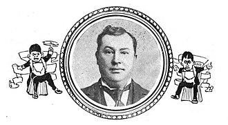 Frank Dumont - Dumont, from The Witmark amateur minstrel guide and burnt cork encyclopedia (1899)