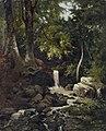 Franz Bunke - Waldstück mit Quelle (1879).jpg