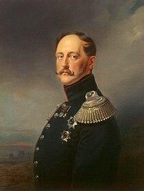 Franz Krüger - Portrait of Emperor Nicholas I - WGA12289.jpg