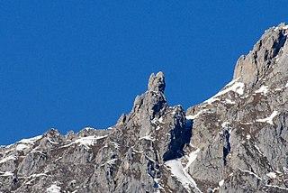 Frau Hitt mountain and folk story in Tyrol