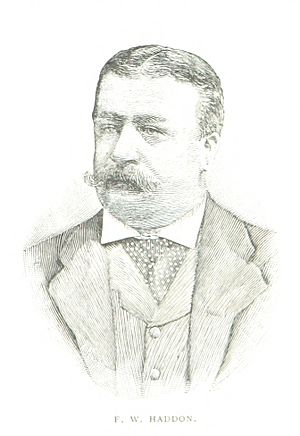 Frederick William Haddon - An 1888 illustration of Haddon