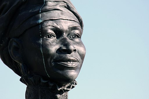 Freedwomans Face - Sculputure - Adrienne Rison Isom - Juneteen Memorial Monument - Austin