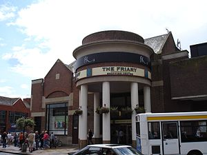 Guildford Black Friary - Guildford's largest covered shopping centre, The Friary lies on the site of the friary