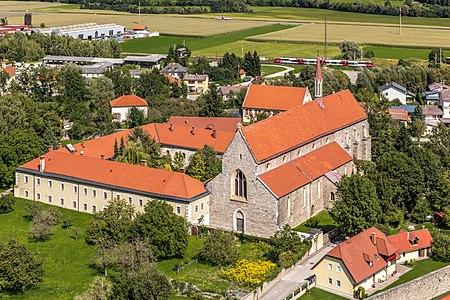 Church Saint Nicholas with monastery of the Dominicans, Friesach, Carinthia, Austria