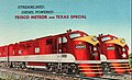 Frisco Railroad Meteor and Texas Special diesel service circa 1948.JPG