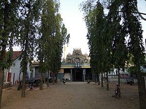 Kachchaleswarar Temple - Front view of Kachchaaleeshwarar Koil