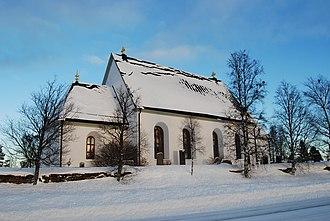 Frösön - Image: Froso kyrka side
