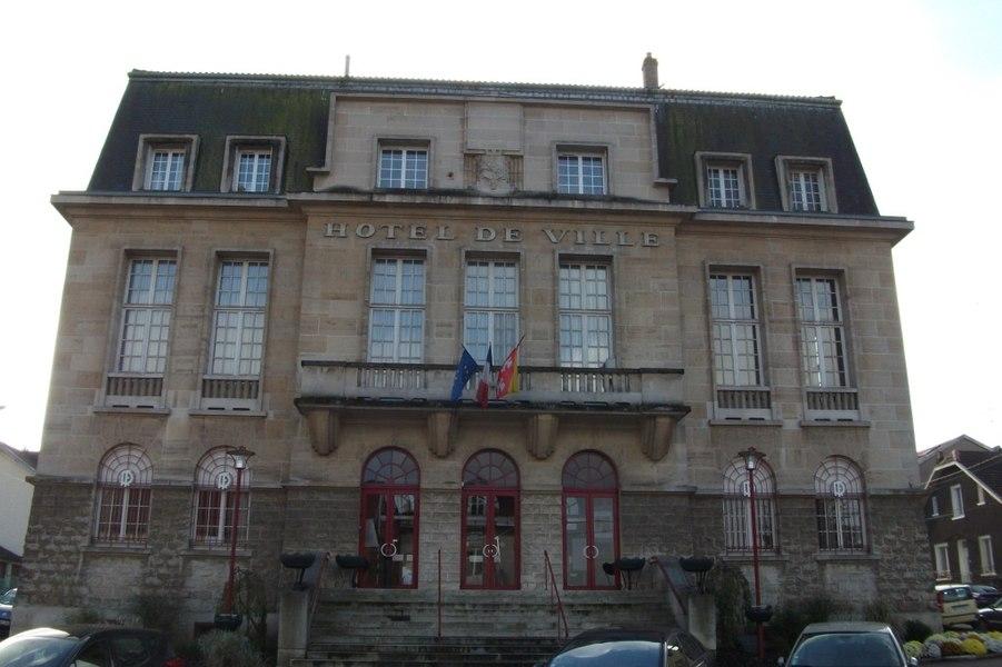 Frouard, l'hôtel de ville.