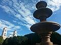 Fuente en la Plaza central de Tonatico - panoramio.jpg