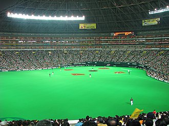 Fukuoka Prefecture - Fukuoka Yahuoku Dome, home of the Softbank Hawks