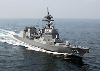 The advanced class of the 2nd-generation general-purpose destroyers of the JMSDF.