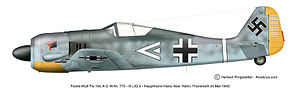 Operation Donnerkeil - Fw 190 of JG 26, 1942.