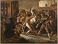 Géricault - Course de chevaux libres à Rome, 1817.jpg