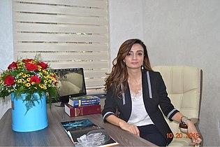 İnstitutunun direktoru, tibb elmləri doktoru Gülnaz Dadaşova ile ilgili görsel sonucu