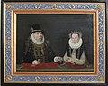 Güstrow, Schlossmuseum, Peter Boeckel, Porträt Ulrich von Mecklenburg und Anna von Pommern-Stettin.JPG