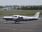 G-MAXA Piper 32 (35496677120).jpg