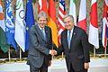 G7 Taormina Paolo Gentiloni António Guterres handshake 2017-05-27.jpg