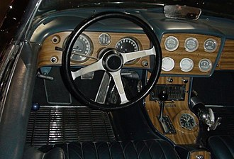 Mako Shark (concept car) - Image: GM Heritage Center 082 Corvette Mako Shark Interior