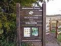 GOC Sandridge to Harpenden 165 Welcome to Heartwood Forest (8248684825).jpg