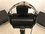 GRAS Type 45CA Hearing Protector Test Fixture with Aviation Headphones - NIOSH Acoustics Laboratory.jpg