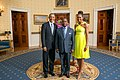 Gabriel Arcanjo Ferreira da Costa with Obamas 2014.jpg