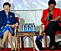 Gabrielle Persley and Segenet Kelemu at the BecA-ILRI Hub 15-year anniversary.jpg
