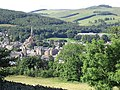 Galashiels town centre viewed from the golf course - geograph.org.uk - 497575.jpg