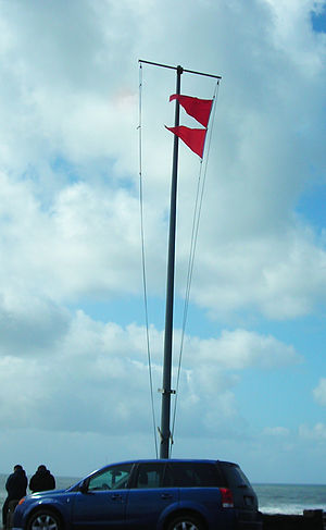 Gale warning - Gale warning flags (USA)