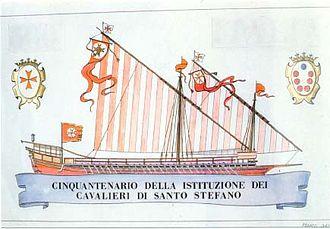 Order of Saint Stephen - Image: Galei of galjas van de Orde van Sint Stephanus
