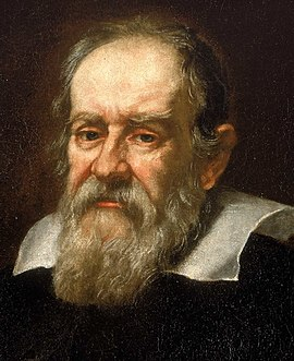 Galileo Galilei, discoverer of the four largest moons of Jupiter, now known as Galilean moons Galileo.arp.300pix.jpg
