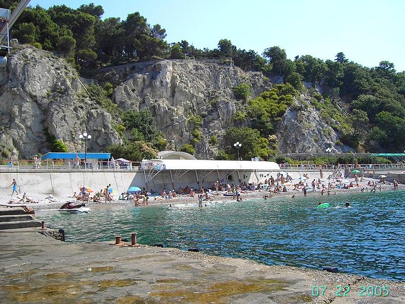 Фото нудистского пляжа в Лоо - Azur.ru