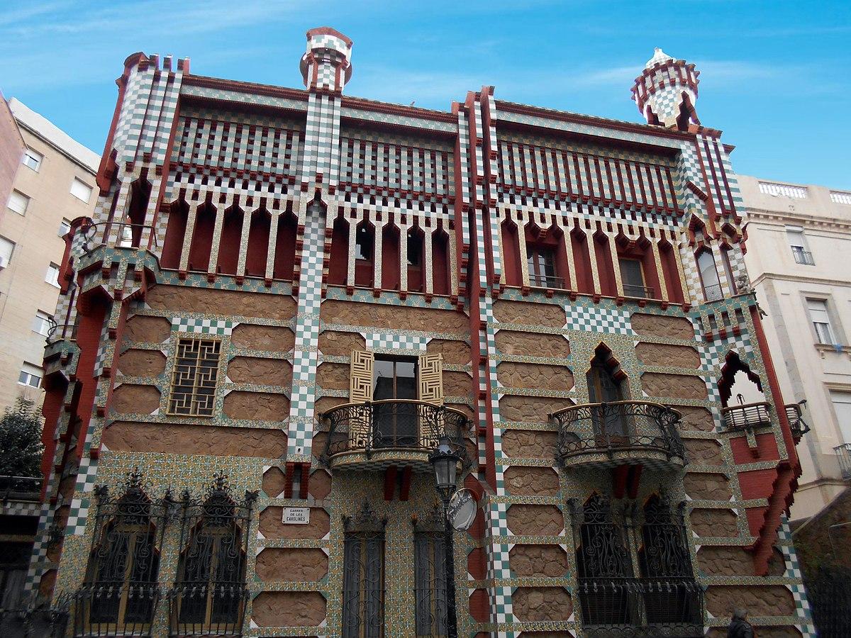 Casa vicens wikipedia la enciclopedia libre - Casa vives gaudi ...
