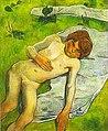 Gauguin - Ein bretonischer Junge 1889.jpg