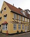 Geburtshaus Heinrich Wilhelm von Gerstenberg 3-Jan-1737 Søndergade Tønder Sønderjylland Danmark Foto Wolfgang Pehlemann DSC00620.jpg