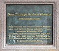 Gedenktafel Zietenplatz (Mitte) Kurt Christoph von Schwerin.jpg