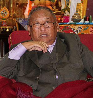 Gelek Rimpoche - Gelek Rinpoche, October 2014