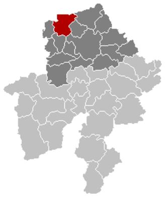 Gembloux - Image: Gembloux Namur Belgium Map