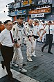 Gemini 12 crew arrives aboard the aircraft carrier USS Wasp.jpg