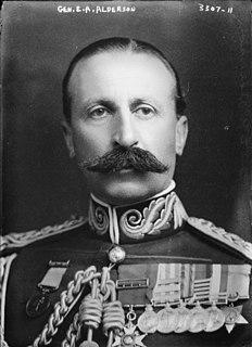 Edwin Alderson British and Canadian First World War general