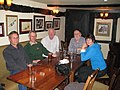 Geographer's meeting in the Trumpet Inn - geograph.org.uk - 1050985.jpg