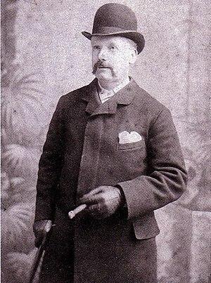 Whitechapel Vigilance Committee - George Lusk, President of the Whitechapel Vigilance Committee.
