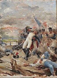 Georges Moreau de Tours Tod von Oberst Gérard Lacuée.jpg