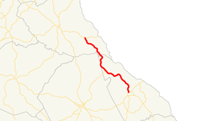 Georgia State Route 79 - Image: Georgia state route 79 map