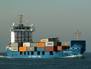 Gerd Sibum IMO 9121895 - Callsign V2IA2 approaching Port of Rotterdam 23-Jan-2006.jpg
