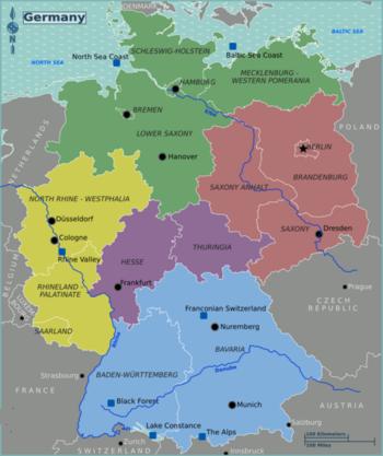 regions of germany