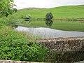 Ghyll Pool Reservoir dam.jpg