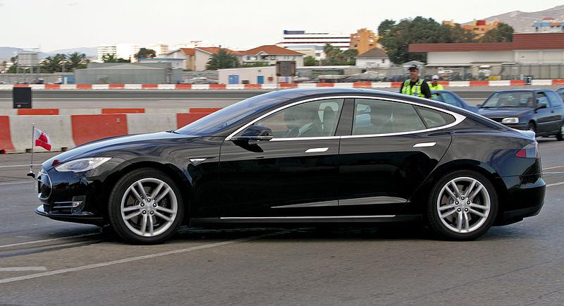 File:Gibraltar G1 Tesla Motors Model S.jpg
